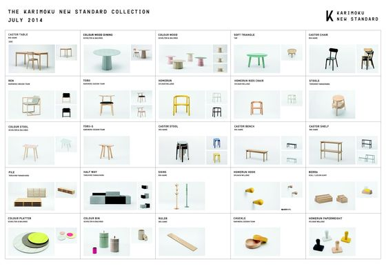 Karimoku New Standard Collection 2014 Leaflet