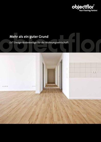 LVT Design-Bodenbeläge für die Wohnungswirtschaft