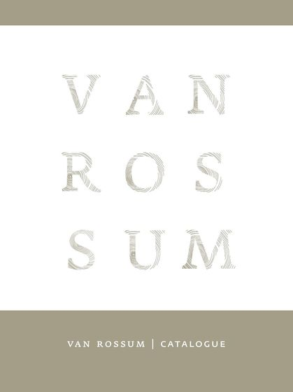 van Rossum Catalogue 2015