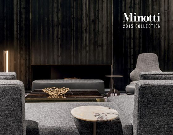 Minotti Collection 2015