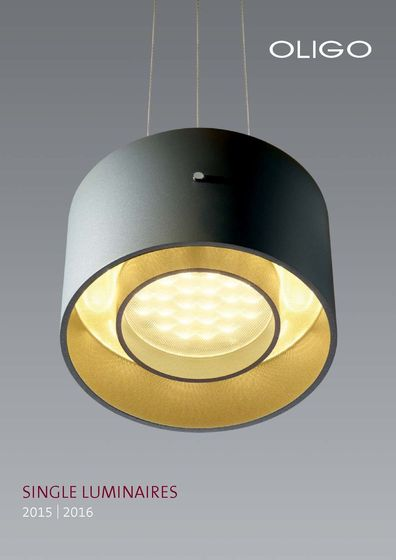 OLIGO Single Luminaires 2015 - 2016