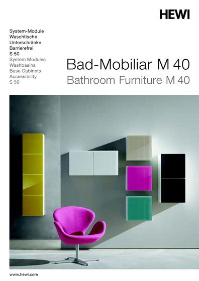 Bathroom Furniture M 40