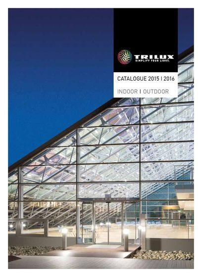 TRILUX Catalogue 2015|2016 Indoor|Outdoor eng