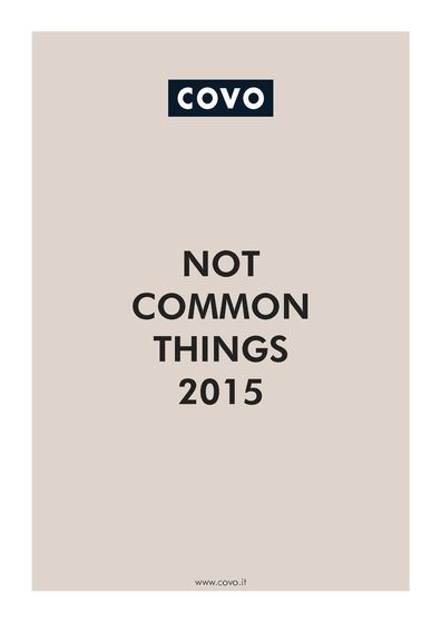 COVO Not Common Things 2015