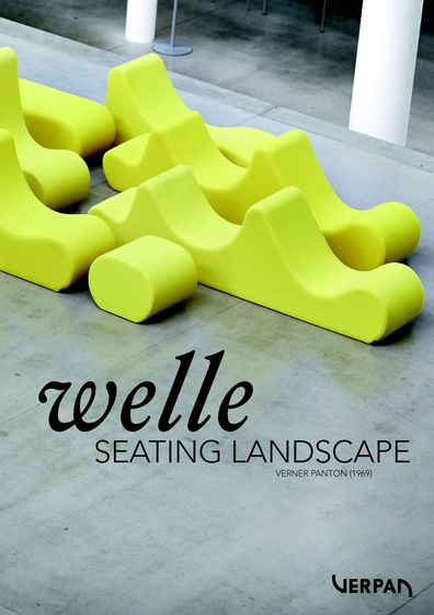Verpan Welle - Seating landscape