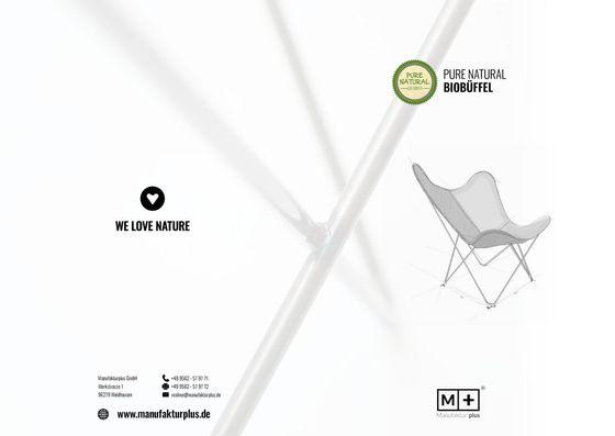 Manufakturplus | Pure Natural Biobüffel