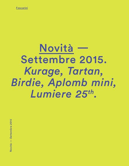 Foscarini News 2015