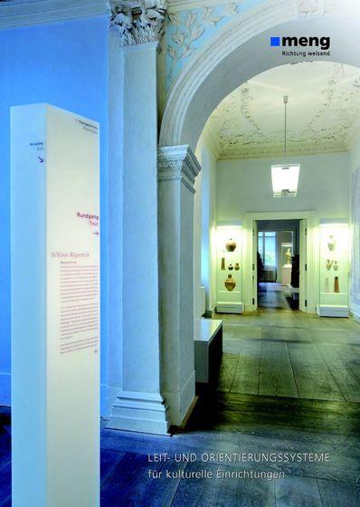 Leit- und Orientierungssysteme für kulturelle Einrichtungen