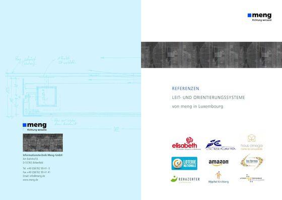 Leit- und Orientierungssysteme in Luxembourg