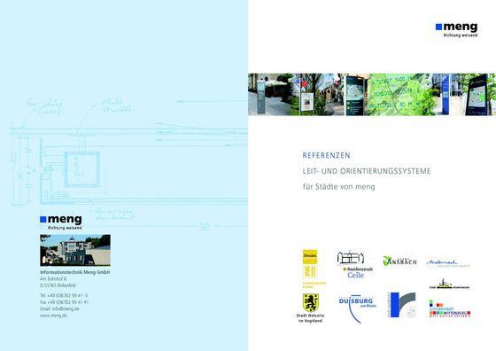 Leit- und Orientierungssysteme für Städte
