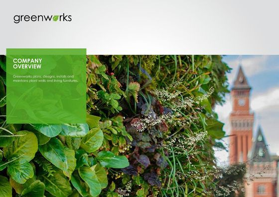 Greenworks Overview English