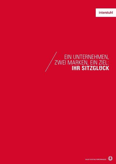 Interstuhl Unternehmensbroschüre 2015