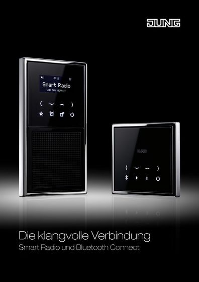 JUNG Smart Radio und Bluetooth Connect