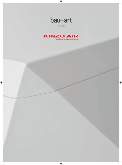 bau+art Kinzo Air Catalogue