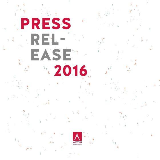Press Release 2016