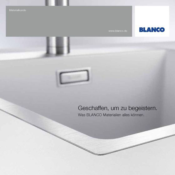 BLANCO Materialkunde