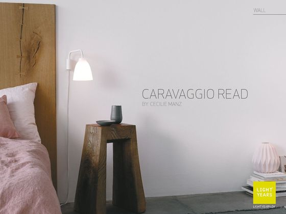 Lightyears Caravaggio Read Wall