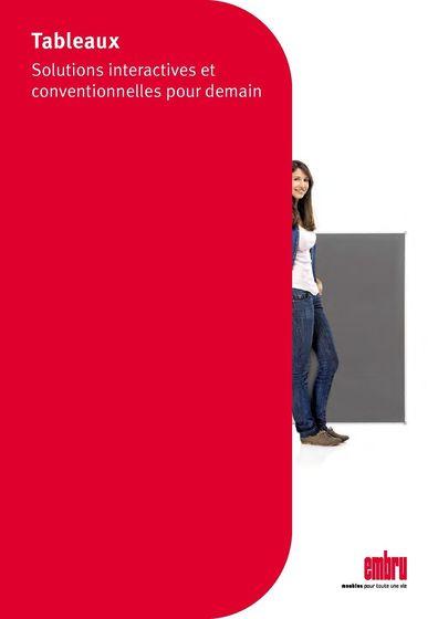 Schule Tafeln Broschüre fr