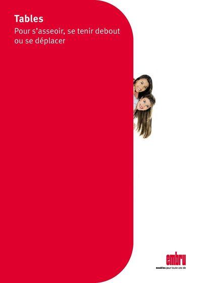 Schule Tische Broschüre fr