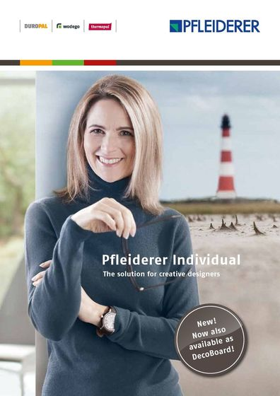 Pfleiderer Individual | The solution for creative designers