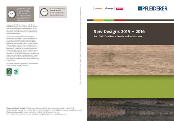 New Designs 2015 – 2016