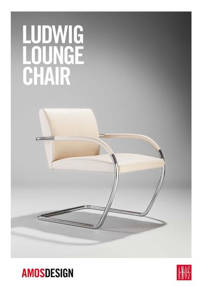 A.M.O.S. Ludwig Lounge Chair