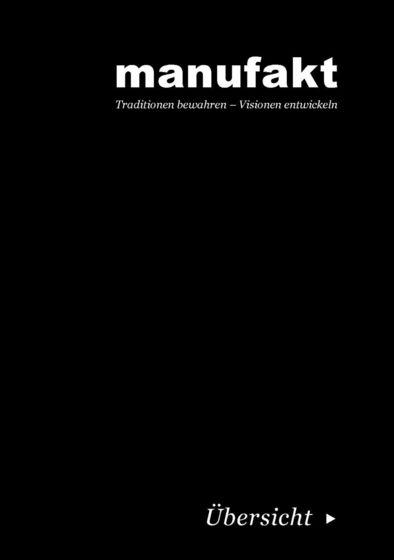 Manufakt Broschüre 2017
