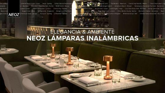 NEOZ cordless lamp brochure spanish