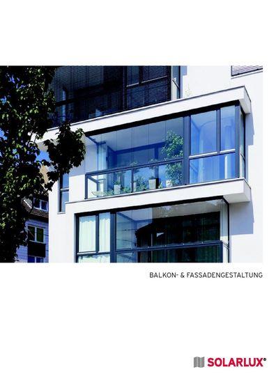 Solarlux Balkon-und Fassadengestaltung