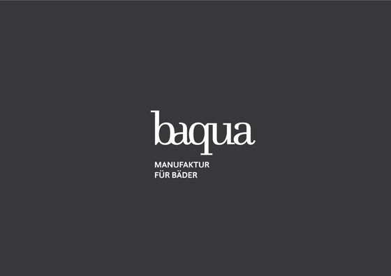 Baqua Waschelement