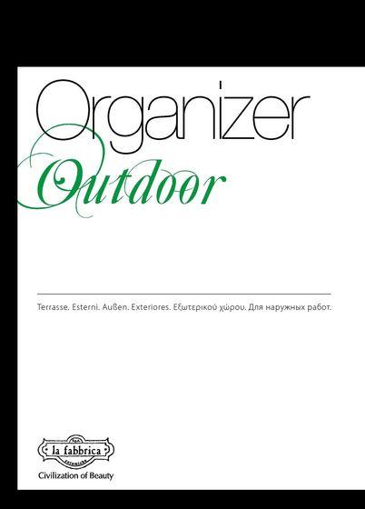La Fabbrica Organizer Outdoor 2016