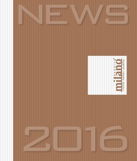 Milano Bedding Catalogue News 2016