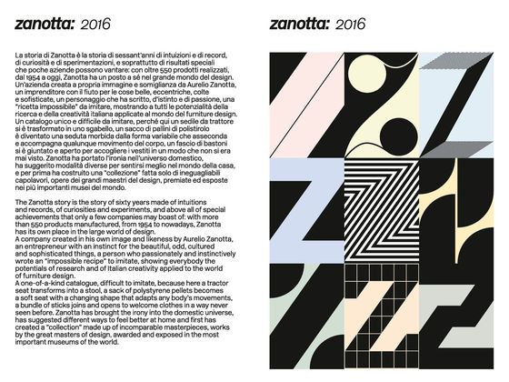 Zanotta General Catalogue 2016