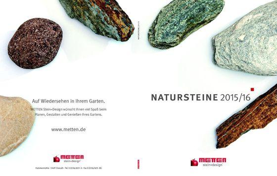 Natursteine 2015/16
