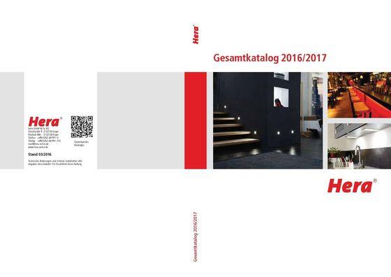 Hera Gesamtkatalog 2016/2017