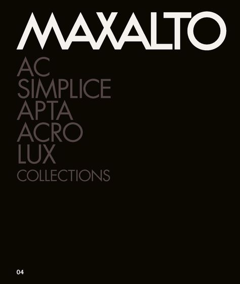 Maxalto Collections