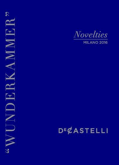 DeCastelli Wunderkammer | Novelties Milano 2016