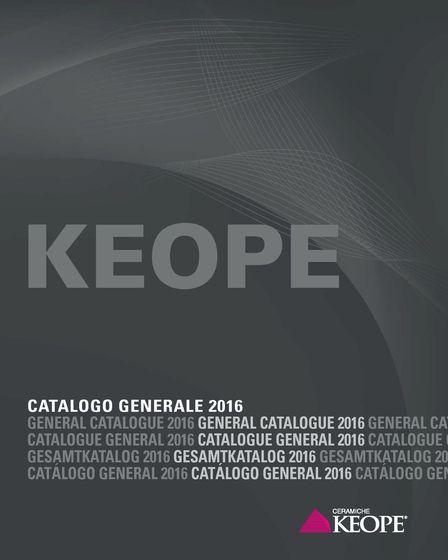 Keope Catalogo Generale 2016