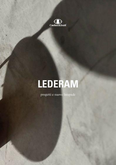 LEDERAM progetti e nuove lampade