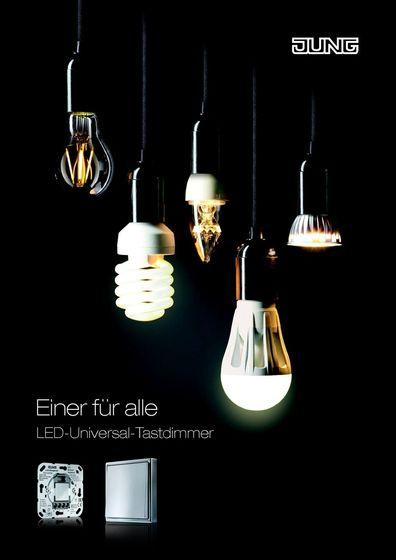 JUNG LED-Universal Tastdimmer