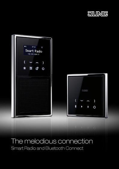JUNG Smart Radio und Bluetooth Connect