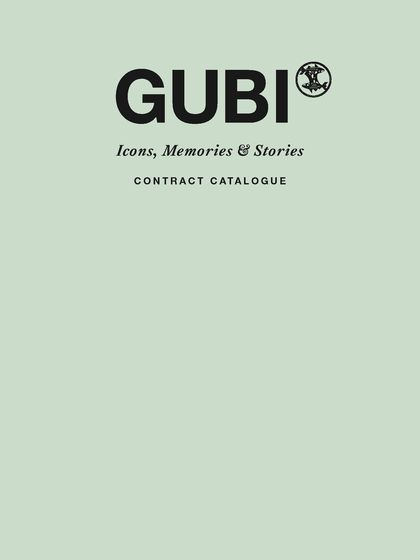 GUBI Contract Catalogue 2015