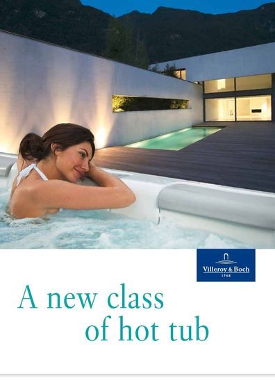 Villeroy & Boch | A new class of hot tub
