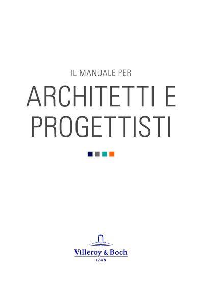 Villeroy & Boch | IL MANUALE PER ARCHITETTI E PROGETTISTI