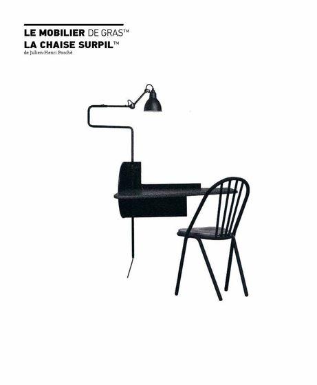 Le mobilier de gras / La chaise surpil 2017