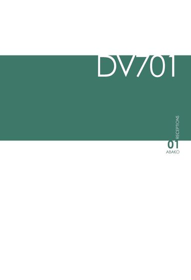 DVO Catalogue DV701-ABAKO