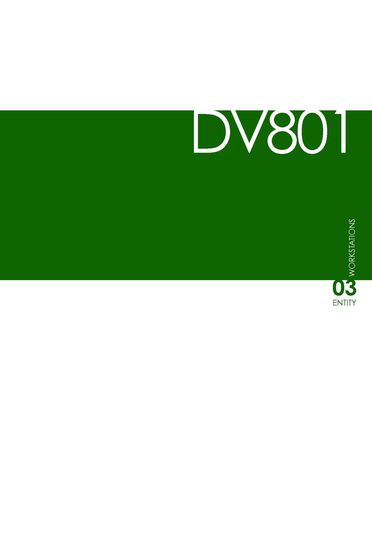 DVO Catalogo DV801-ENTITY