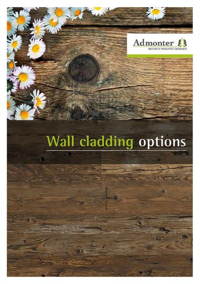 Admonter Wall Cladding Options