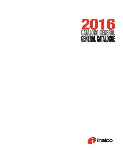 Catalogo General 2016