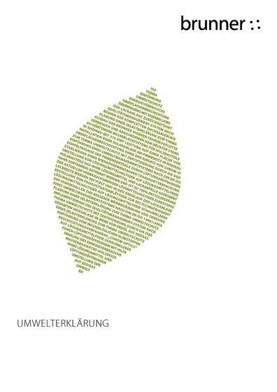 Brunner Umwelterklärung